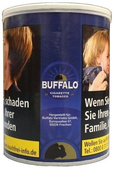 Buffalo Halfzware Tabak Blue 150g Dose (Drehtabak / Feinschnitt)