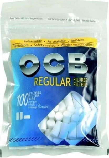 5 x 100 Stück OCB Feinfilter Regular