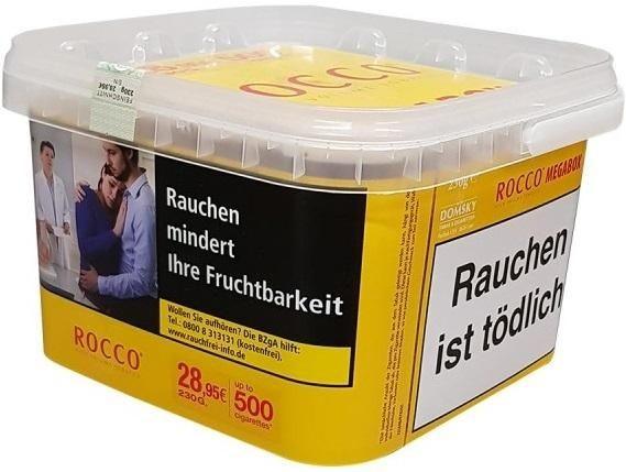 Rocco High Volume Megabox Tabak 220g Eimer (Stopftabak / Volumentabak)