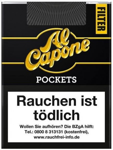 Al Capone Pockets Original Filter 18 (10 x 18 Zigarillos)