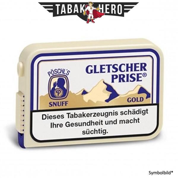 10x Gletscherprise Gold Snuff Schnupftabak 10g