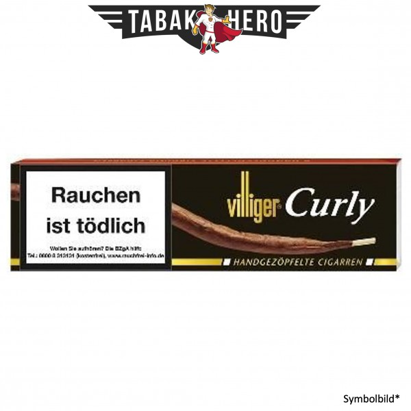 Villiger Curly (6 Zigarren)