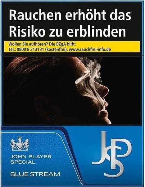 John Player JPS Blue Stream (Stange / 6x50 Zigaretten)