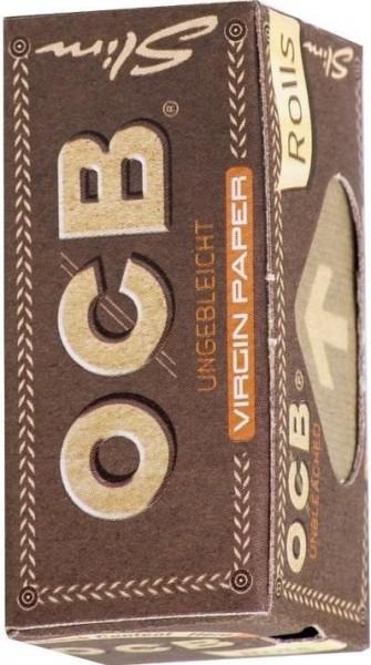 10 x OCB Unbleached Rolls Drehpapier/ Blättchen/ Zigarettenpapier