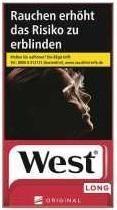 West Red Long (Stange / 10x20 Zigaretten)