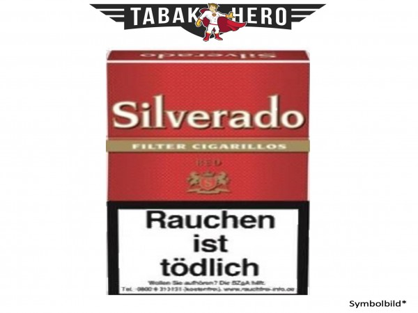 Silverado Red 84mm (10x17 Zigarillos)
