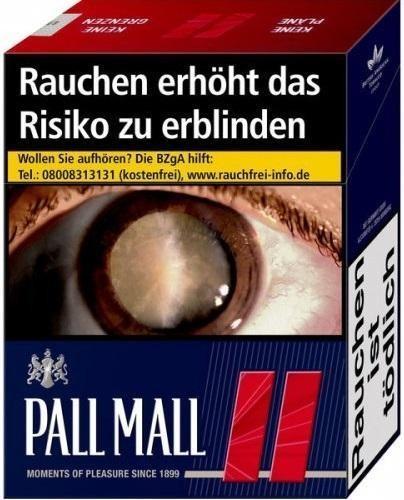 Pall Mall Red (Stange / 8x34 Zigaretten)