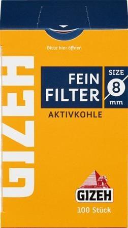 Gizeh Filter Kohlefilter 100 Stück
