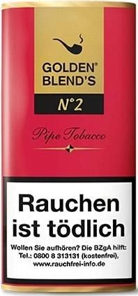 Golden Blend's No.2 (Black Cherry) Tabak 50g Pouch (Pfeifentabak)