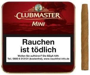 Clubmaster 232 Mini Red (Vanilla) (20 Zigarillos)