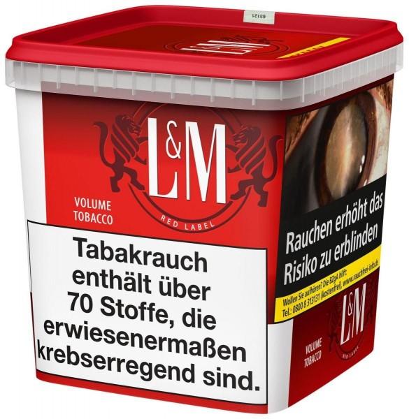 L&M Red SUPER Box Tabak 280g Eimer (Stopftabak / Volumentabak)