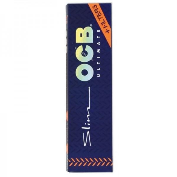 OCB Ultimate Slim + Filter Tips Drehpapier/ Blättchen/ Zigarettenpapier 32 Blatt