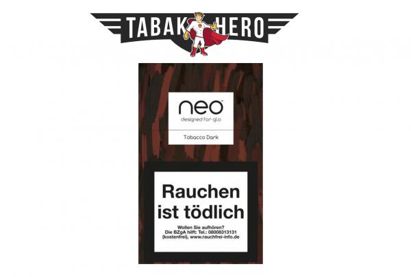 neo Sticks Tobacco Dark für Glo Tabakerhitzer (Stange / 10x20 Stück)