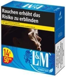 L&M Blue 5XL Zigaretten (Stange / 6x49 Zigaretten)