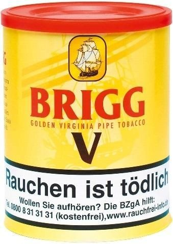 Brigg V (Vanilla) Tabak 180g Dose (Pfeifentabak)