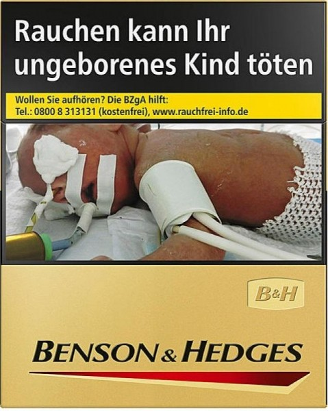 Benson & Hedges Gold Zigaretten (24 Stück)