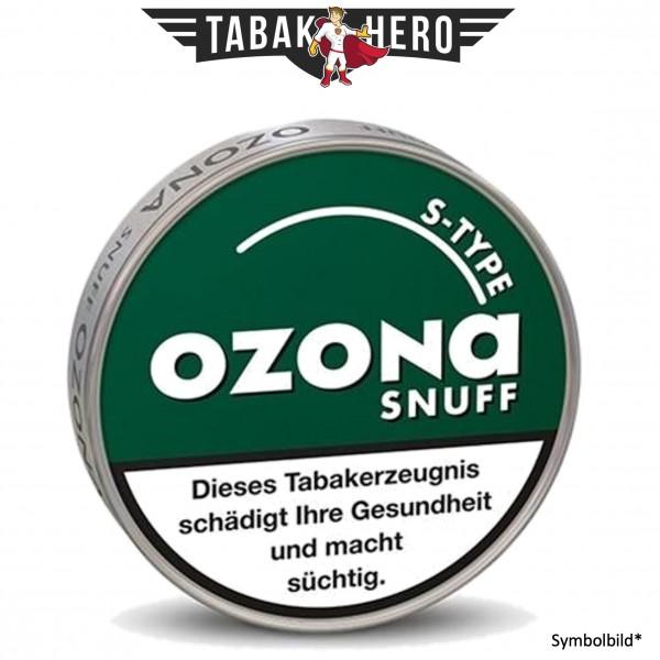 10x Ozona S-Type (Spearmint) Schnupftabak 5g