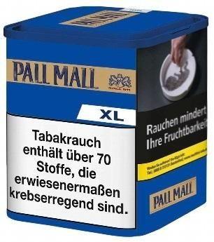 Pall Mall Authentic Blue XL Tabak 60g Dose (Drehtabak / Feinschnitt)