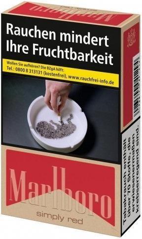 Marlboro Simply Red Zigaretten (20 Stück)