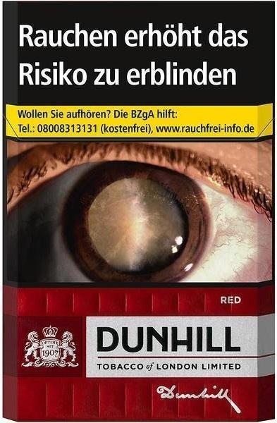 Dunhill Red Zigaretten (20 Stück)