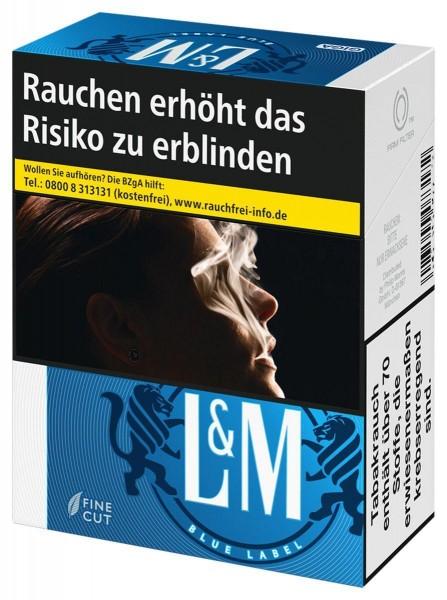 L&M Blue (Stange / 8x34 Zigaretten)