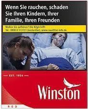 Winston Red (Stange / 8x35 Zigaretten)