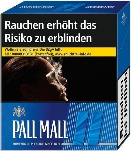 Pall Mall Blue (Stange / 12x21 Zigaretten)
