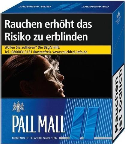 Pall Mall Blue (Stange / 8x26 Zigaretten)
