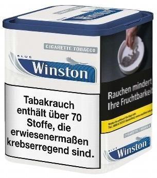 Winston Classic Blue Tabak 100g Dose (Drehtabak / Feinschnitt)
