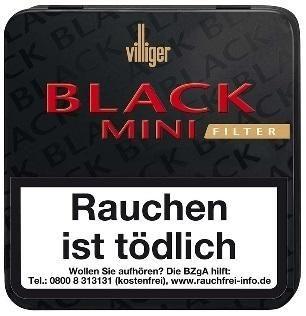 Villiger Black Caponek Mini Sumatra (10 x 20 Zigarillos)