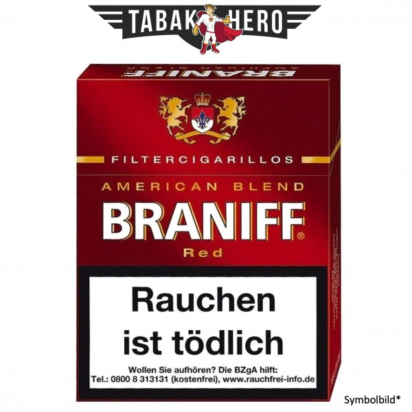 Braniff Red ND (23 Zigarillos)