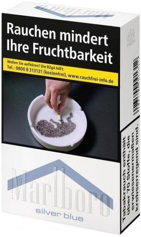 Marlboro Silver Blue Zigaretten (20 Stück)