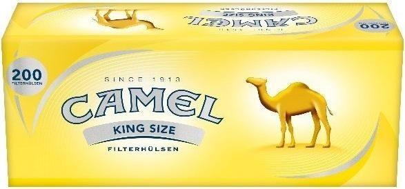 1000 Stück Camel Hülsen Filterhülsen Zigarettenhülsen Stopfhülsen