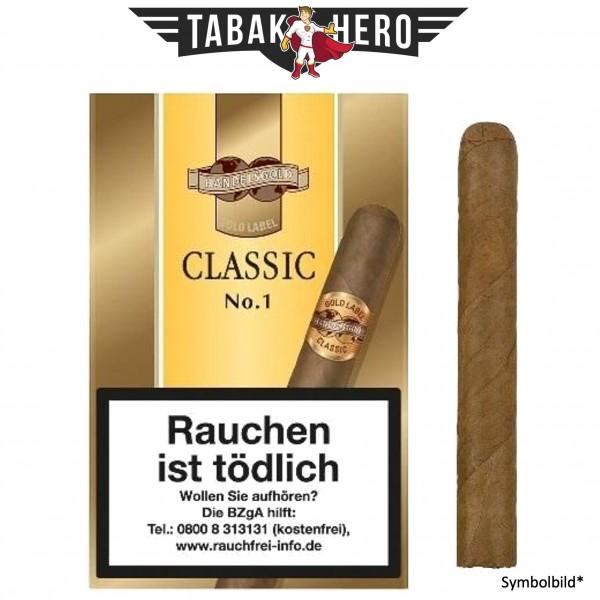 Handelsgold 460 Gold L. No1 Classic (5 Zigarren)