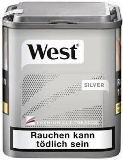 West Silver Tabak 42g Dose (Stopftabak / Volumentabak)
