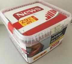 News Red Volume Box 215g