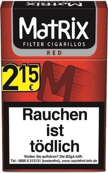 Matrix Rot 84mm (20 Zigarillos)