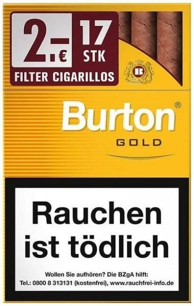 Burton Gold (Vanilla) L (17 Zigarillos)