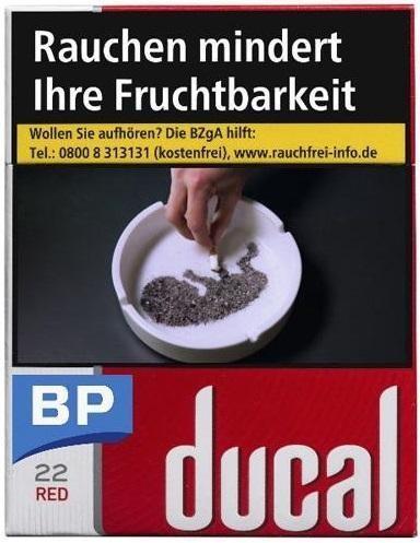 Ducal Red Zigaretten (22 Stück)