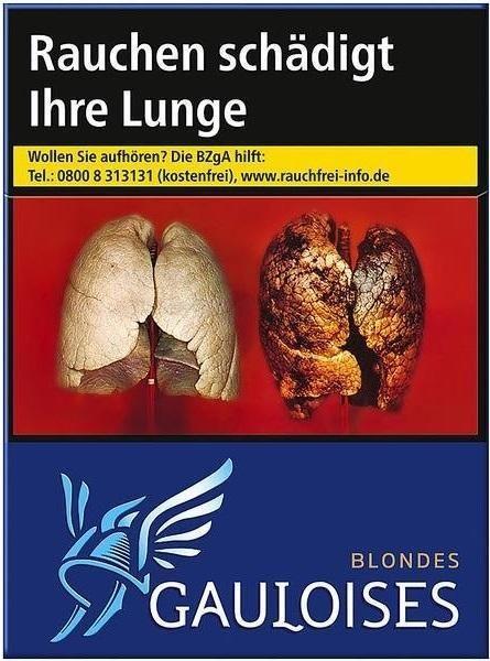 Gauloises Blondes Blau (Stange / 8x23 Zigaretten)