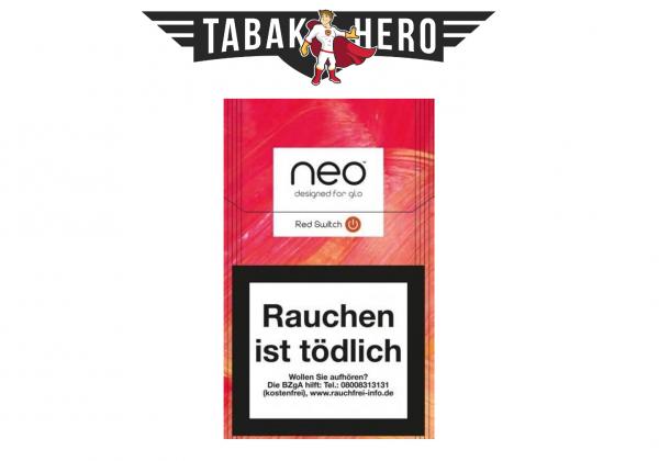 neo Sticks Red Switch für Glo Tabakerhitzer (Stange / 10x20 Stück)