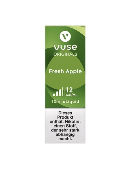 Vuse (Vype) eLiquid Bottle Fresh Apple 12mg