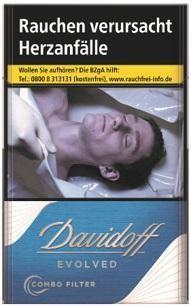Davidoff Evolved Blue (Stange / 10x20 Zigaretten)