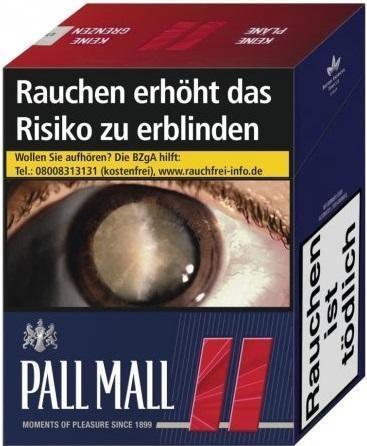 Pall Mall Red Zigaretten (49 Stück)