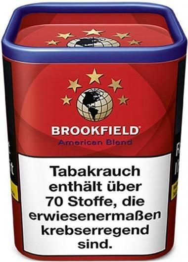 Brookfield American Blend Tabak 120g Dose (Drehtabak / Feinschnitt)