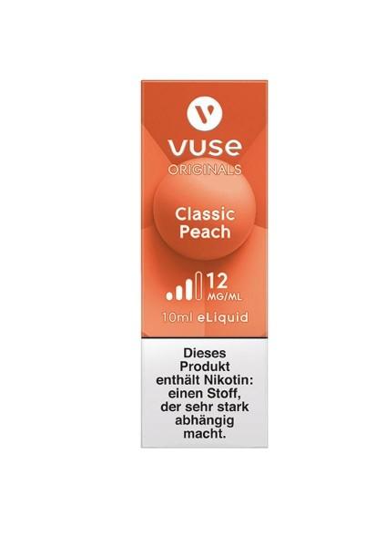4 x Vuse (Vype) eLiquid Bottle Classic Peach 12mg