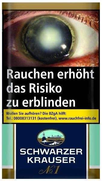 Schwarzer Krauser No.1 Tabak 30g Pouch (Drehtabak / Feinschnitt)