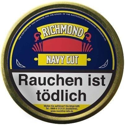 Richmond Navy Cut Flake Tabak 50g Dose (Pfeifentabak)