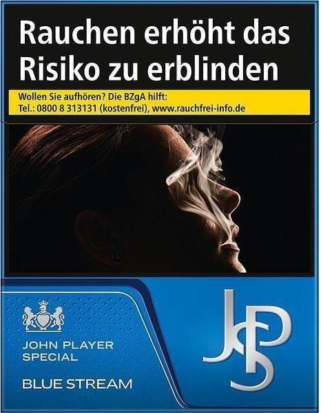 John Player JPS Blue Stream (Stange / 6x34 Zigaretten)