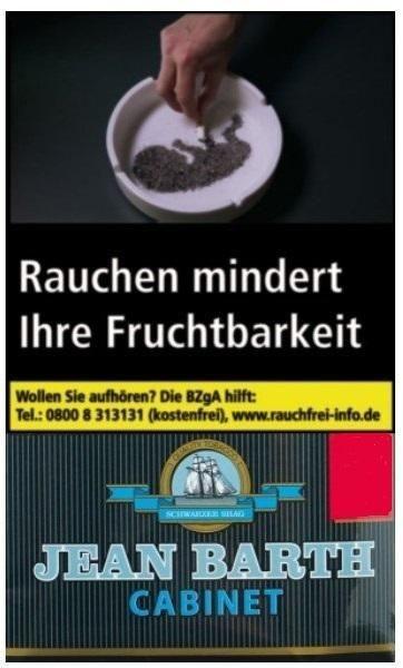 Jean Barth Zware Tabak 35g Pouch (Drehtabak / Feinschnitt)